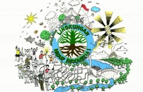 Graphic Recording Project - Lingkungan Hidup Indonesia